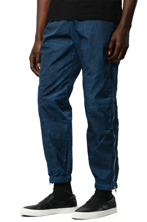 KENZO Blue Patched Jogger Pant 0