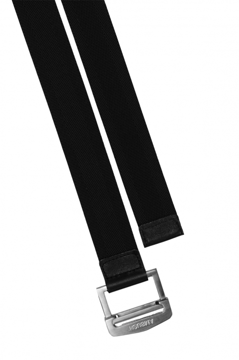 AMBUSH Black Logo Buckle Belt 0