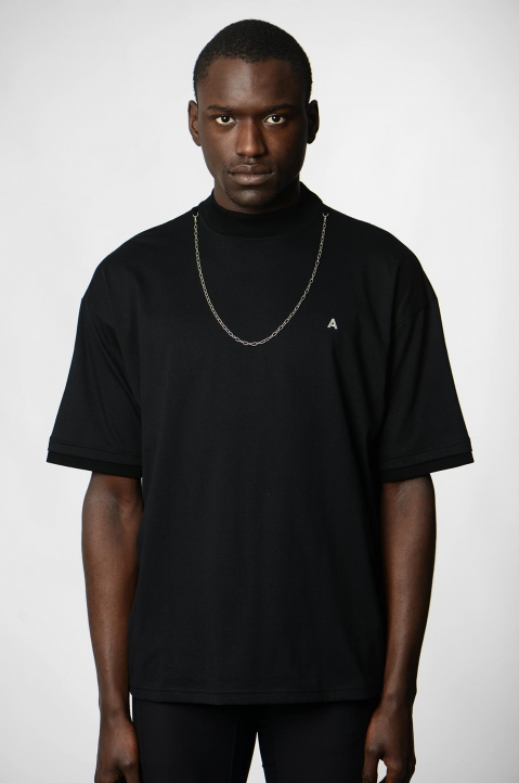 AMBUSH Black Chain Tee 1