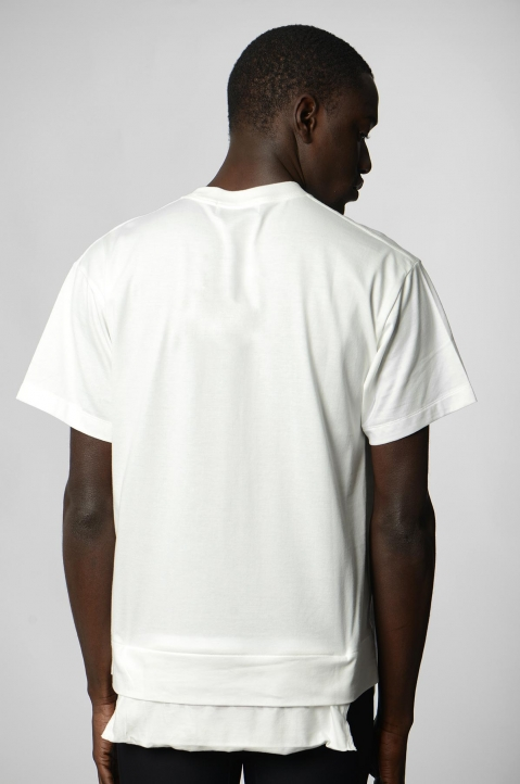 AMBUSH White Waist Pocket Tee 2