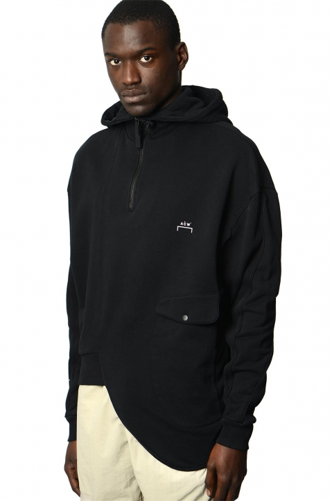 A-COLD-WALL* Curve Black Hoodie 0