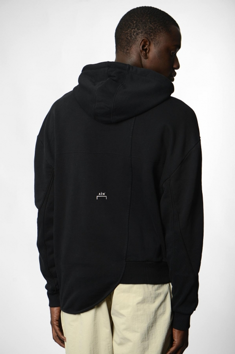 A-COLD-WALL* Curve Black Hoodie 2
