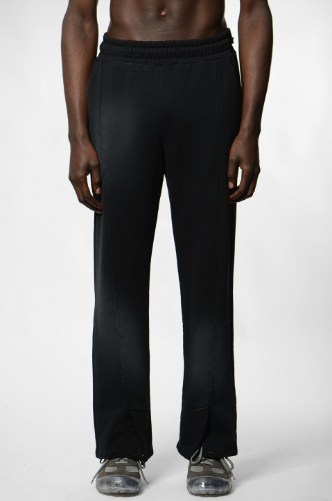 A-COLD-WALL* Black Pleated Sweatpants 1