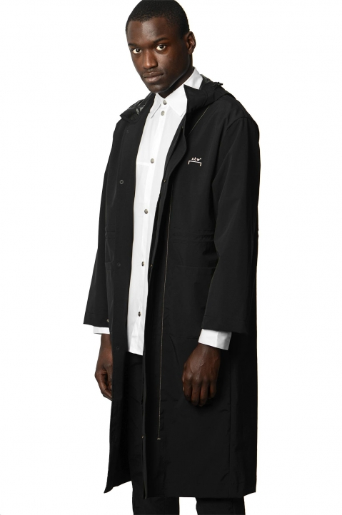 A-COLD-WALL* Black Windbreaker Coat 0