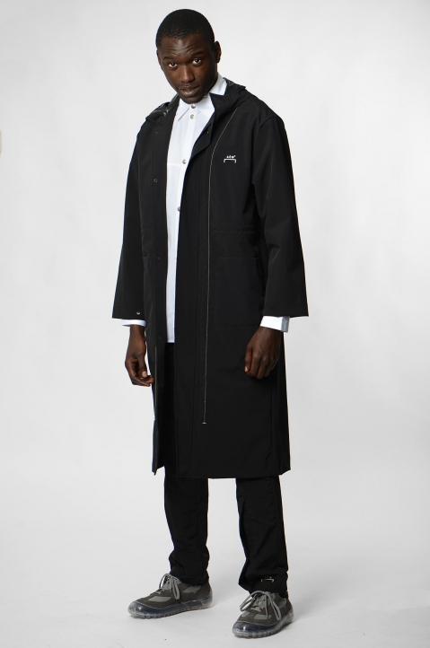 A-COLD-WALL* Black Windbreaker Coat 3
