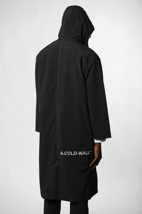 A-COLD-WALL* Black Windbreaker Coat 2