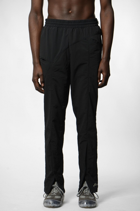 A-COLD-WALL* Curved Stitch Black Trackpants 1