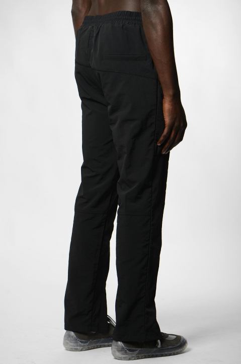 A-COLD-WALL* Curved Stitch Black Trackpants 2