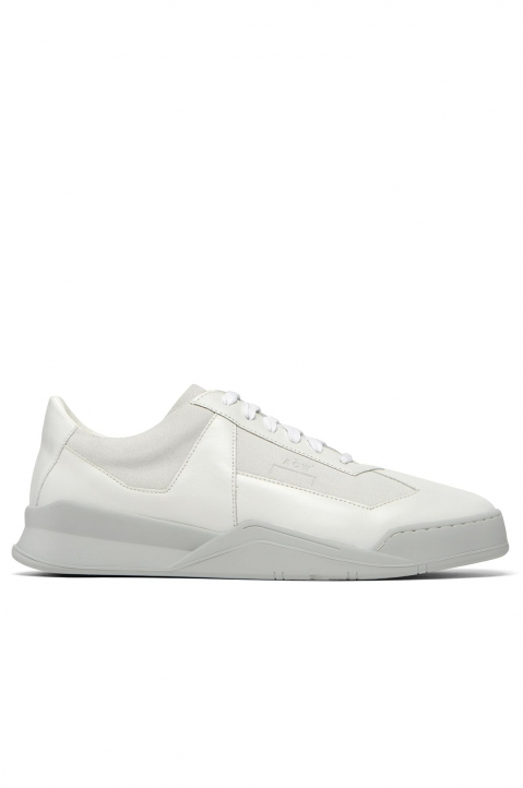 A-COLD-WALL* White Shard Low Top Sneakers  0