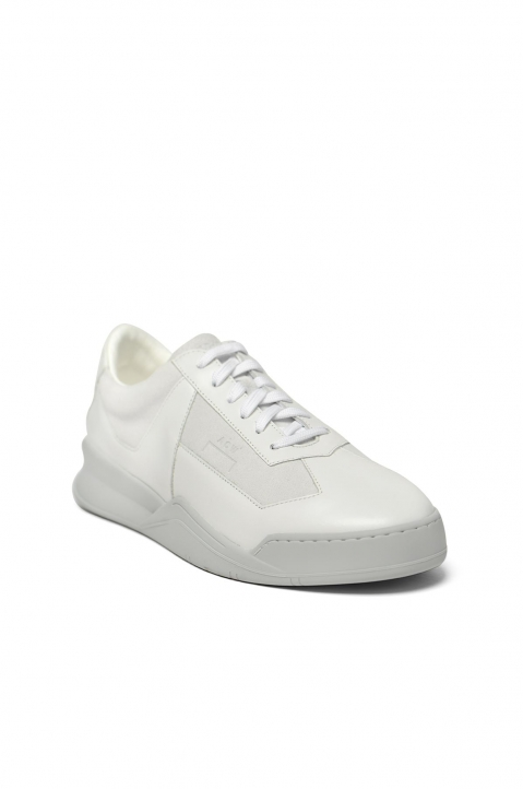 A-COLD-WALL* White Shard Low Top Sneakers  1