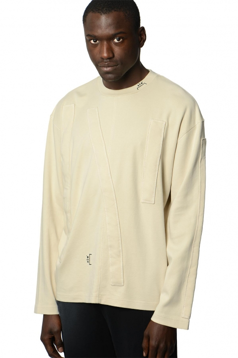 A-COLD-WALL* Beige 3D L/S Tee 0