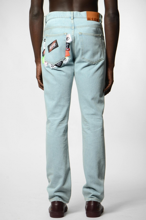 MSGM Tags Pocket Jeans 2