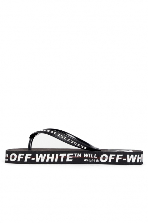 OFF-WHITE Black Flip Flops 2
