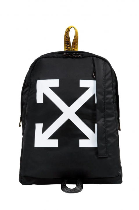OFF-WHITE Black Easy Backpack 0