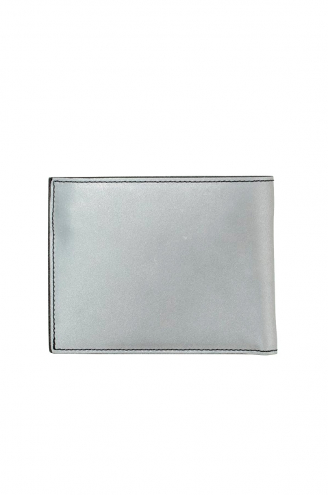 OFF-WHITE Quote Silver Bifold Wallet 1
