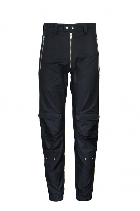 GmbH Yolanda Black Biker Trousers 0