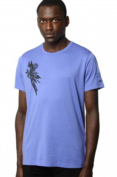 STONE ISLAND SHADOW PROJECT 7219 Blue Tee 0
