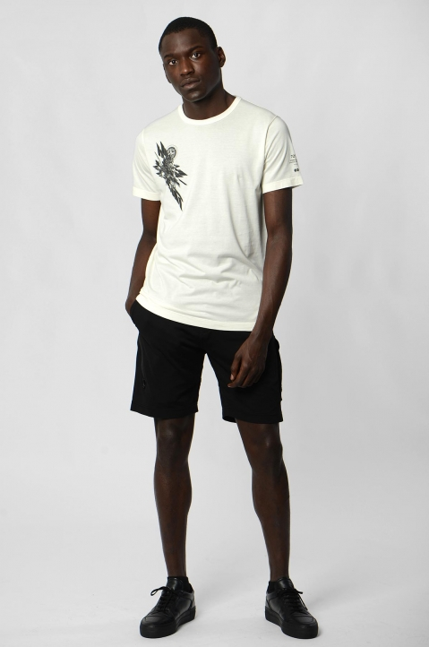 STONE ISLAND SHADOW PROJECT 7219 White Tee 3