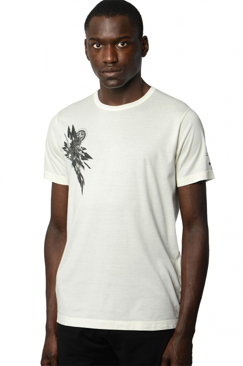 STONE ISLAND SHADOW PROJECT 7219 White Tee 0