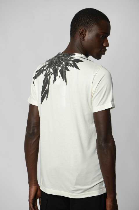 STONE ISLAND SHADOW PROJECT 7219 White Tee 1