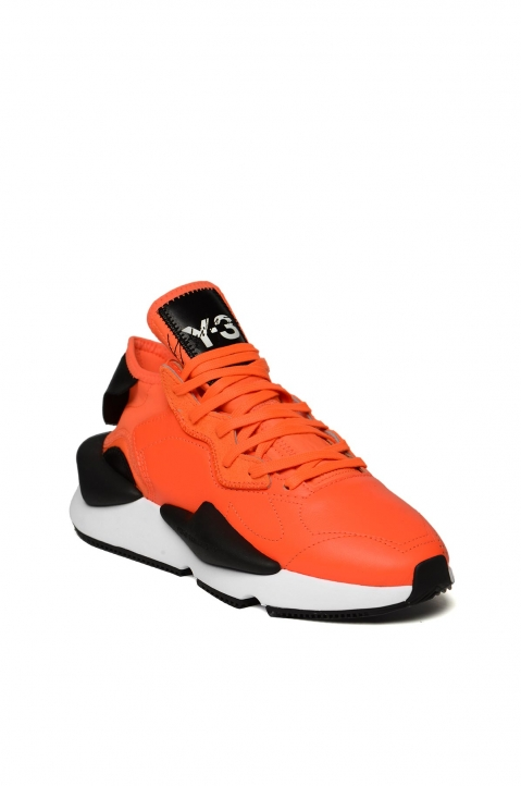 Y-3 Kaiwa Orange Sneakers 1