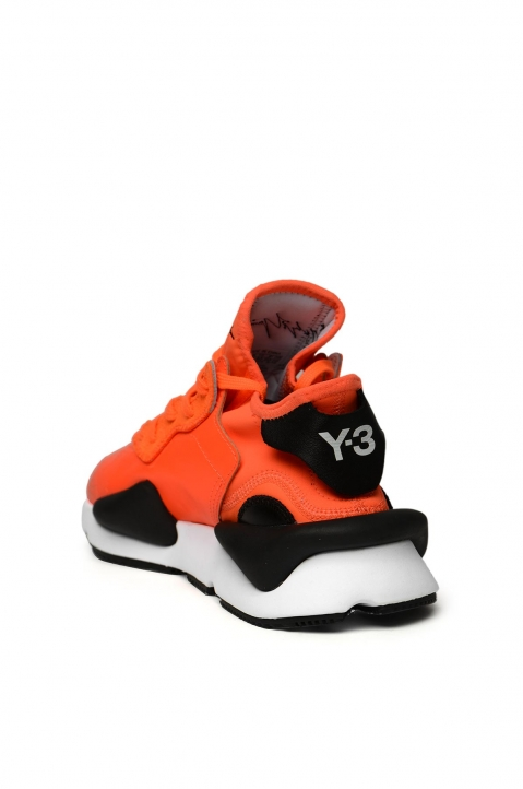 Y-3 Kaiwa Orange Sneakers 2