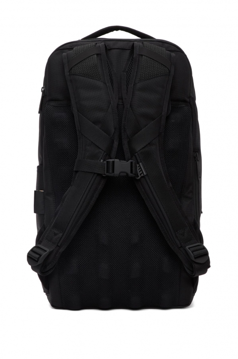 Y-3 Black Nylon Backpack  1