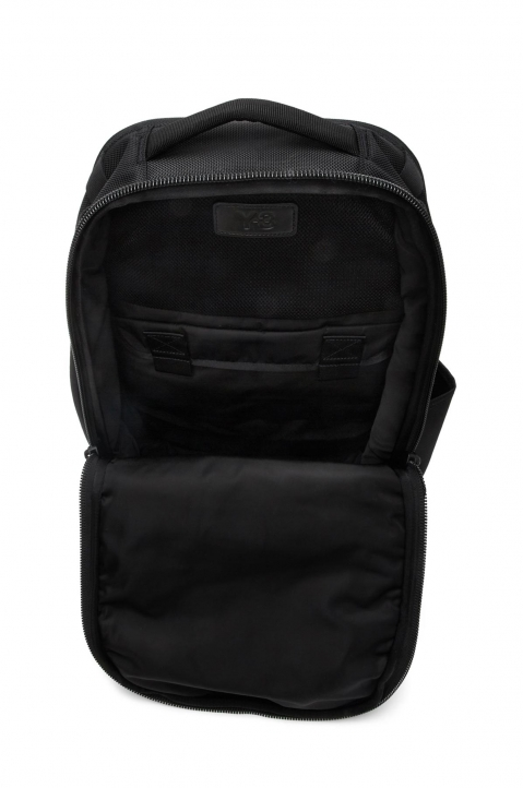 Y-3 Black Nylon Backpack  2