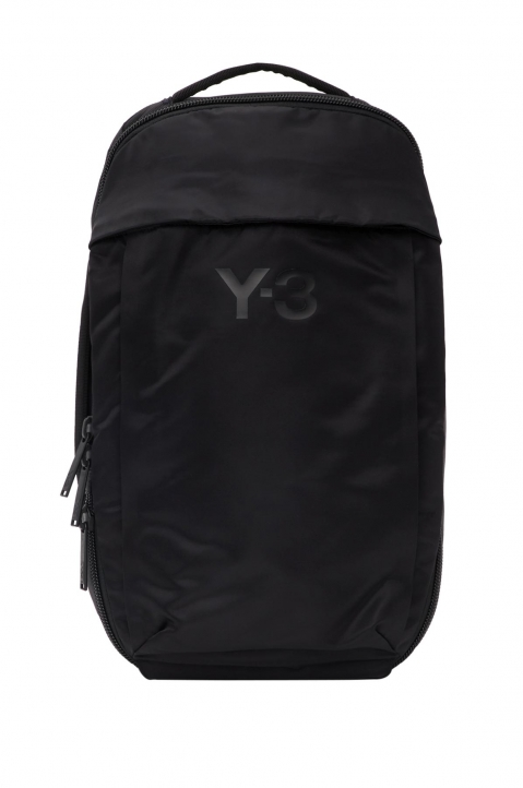 Y-3 Black Nylon Backpack  0