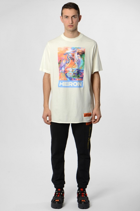HERON PRESTON Colors Heron White Tee 3