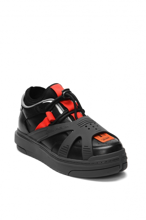 HERON PRESTON Protection Black Sneakers 1