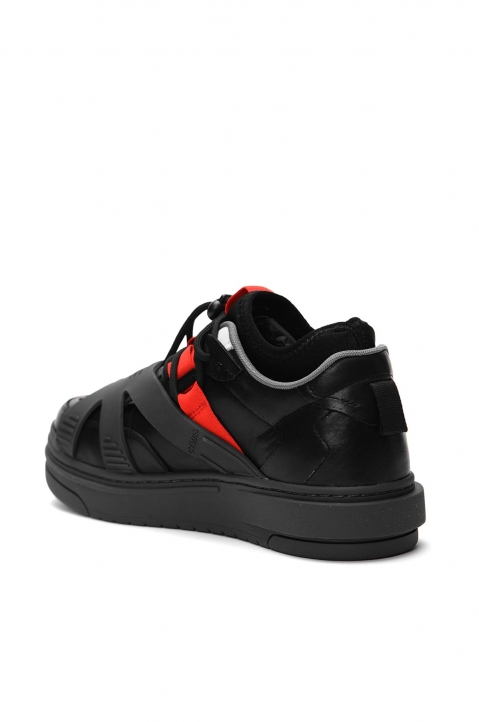 HERON PRESTON Protection Black Sneakers 2