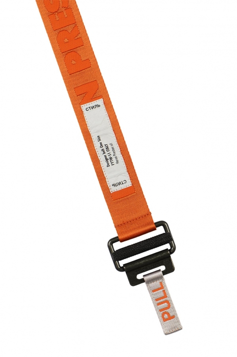 HERON PRESTON Medium Utility Orange Belt 1