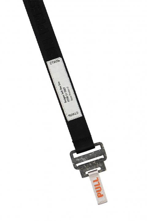HERON PRESTON Small Utility Black Belt  1