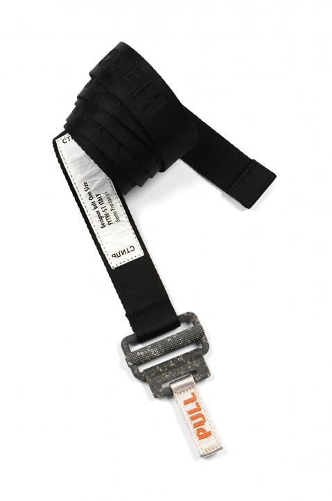 HERON PRESTON Small Utility Black Belt  0
