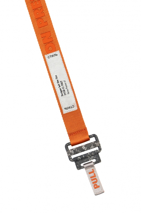 HERON PRESTON Small Utility Orange Belt  1