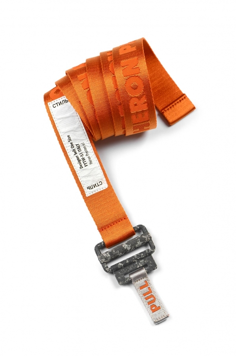 HERON PRESTON Small Utility Orange Belt  0