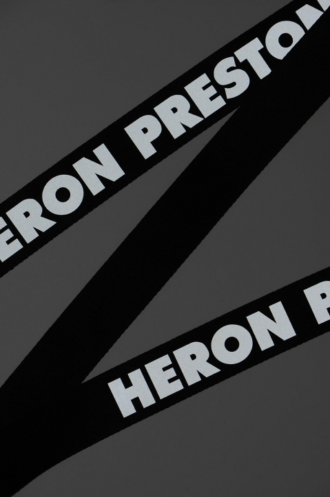 HERON PRESTON Medium Utility Black Reflective Belt  2