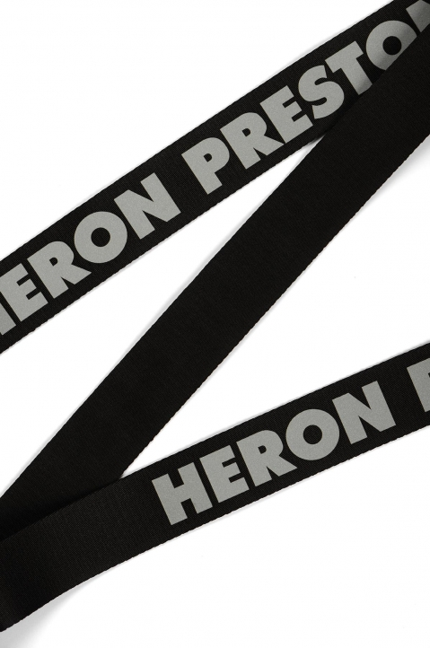 HERON PRESTON Medium Utility Black Reflective Belt  1