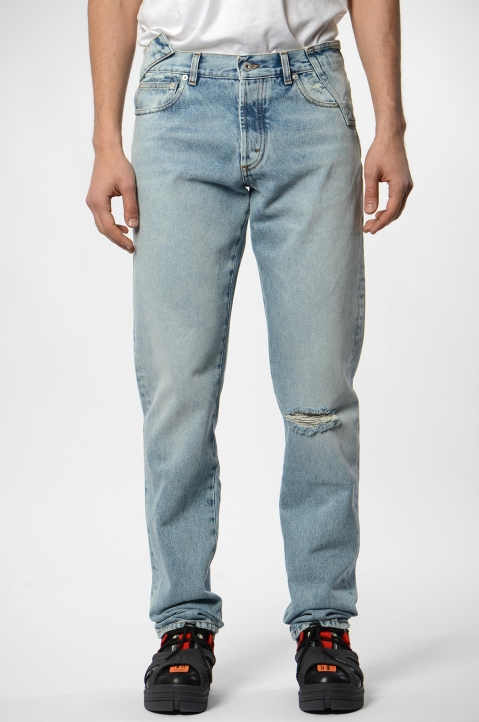 HERON PRESTON X SAMI MIRO VINTAGE Light Wash Jeans 1
