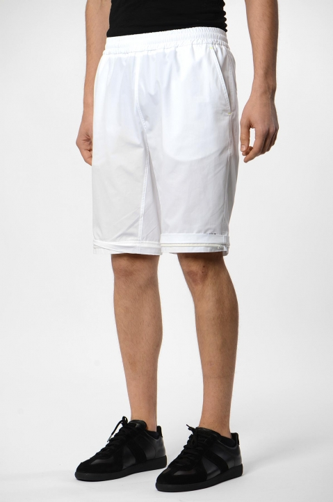 MSGM White Convertible Trackpants 3