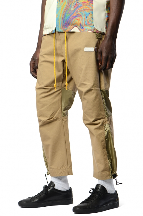 PACE Beige Ripstop Bag Pants 0