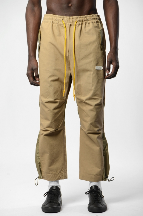 PACE Beige Ripstop Bag Pants 1