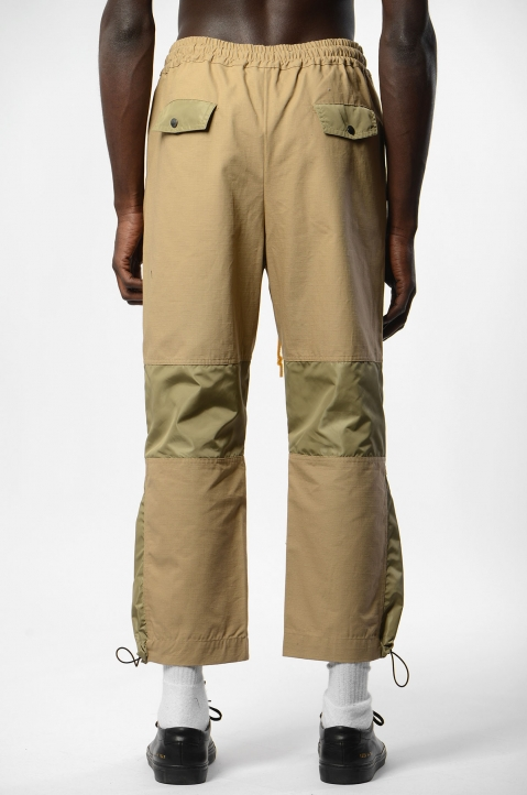 PACE Beige Ripstop Bag Pants 2