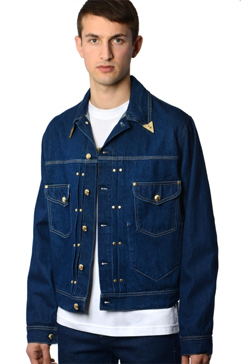 VERSACE JEANS COUTURE Icon Denim Jacket 0