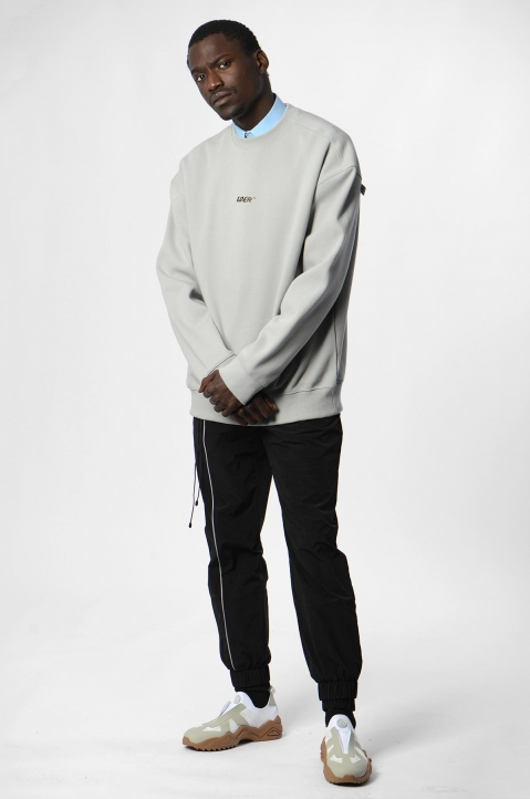 ADER ERROR Grey Tort.og Sweatshirt 3