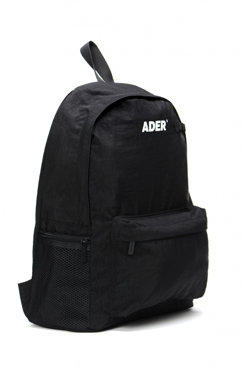 ADER ERROR Upside Down Black Backpack 1