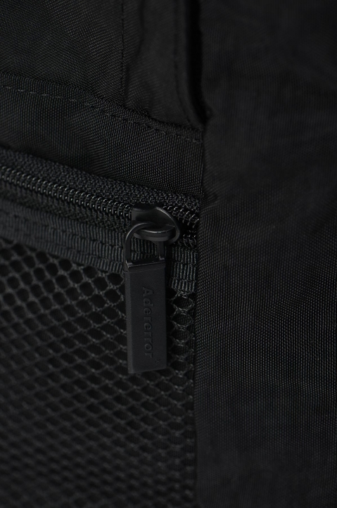 ADER ERROR Upside Down Black Backpack 3