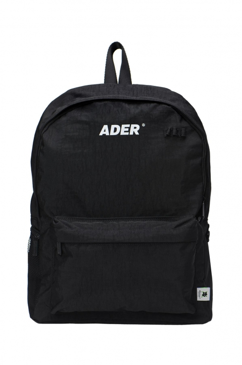 ADER ERROR Upside Down Black Backpack 0