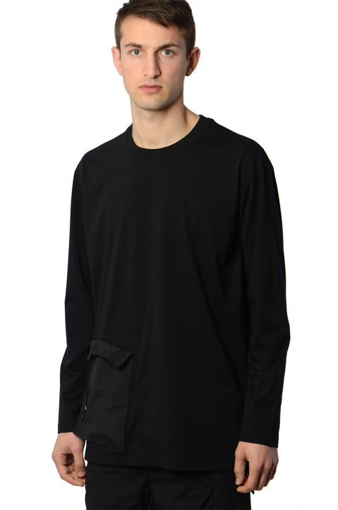 Y-3 Travel Black L/S Tee 0